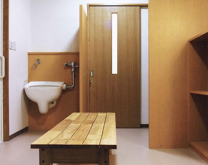 デイサービス桃の花 脱衣室
